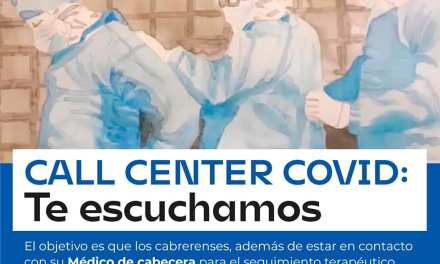 Cabrera-Se creó un CALL CENTER COVID