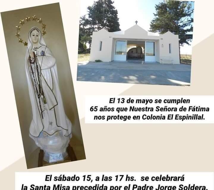 65 Años de la Gruta de la Virgen de Fátima en Colonia El Espinillal