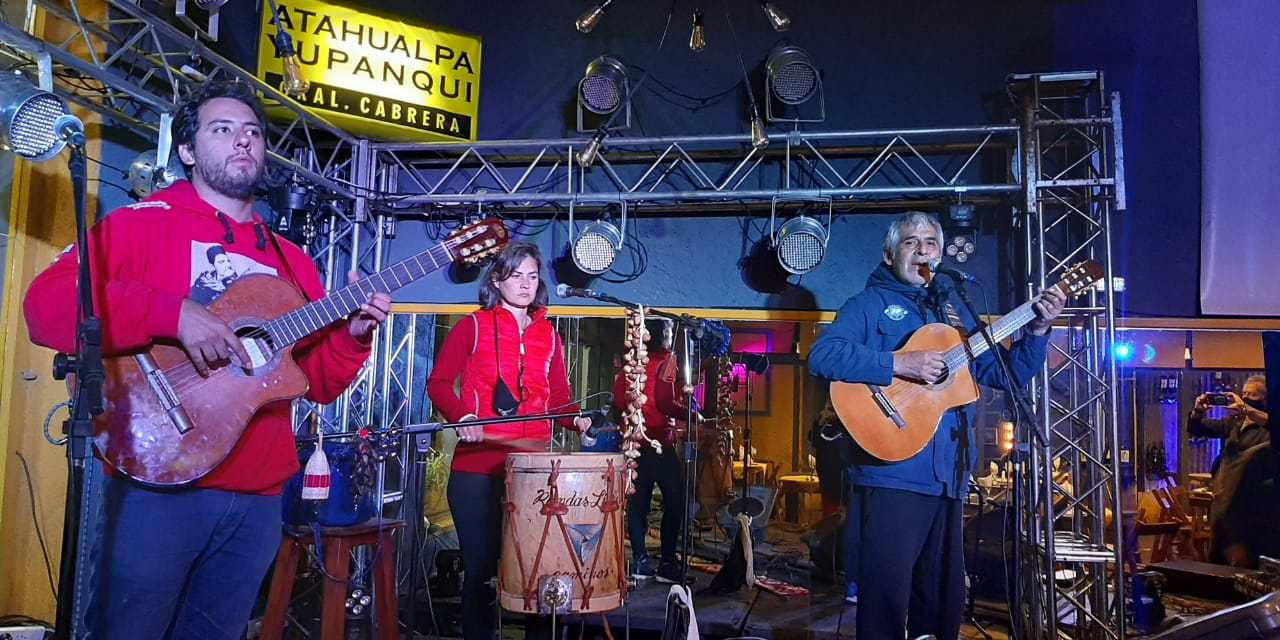 Reapertura de Atahualpa con Peteco Carabajal