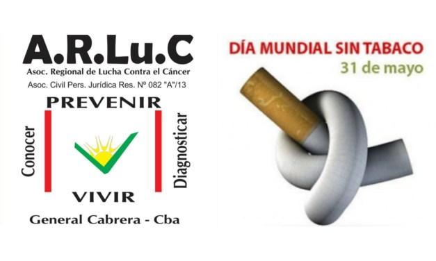31 de Mayo – «Día Mundial sin Tabaco» y semana de la Prevención del Cáncer de Pulmón