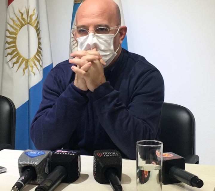 CONFERENCIA- ANUNCIO DE INAUGURACION DE OBRAS CON LA PRESENCIA DEL VICE GOBERNADOR MANUEL CALVO
