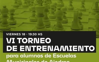 «Torneo entrenamiento para la escuela Municipal de Ajedrez»