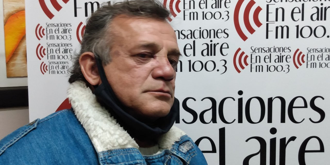 «Piraña» Borra fue asaltado en su último reparto en el servicio de cadetería