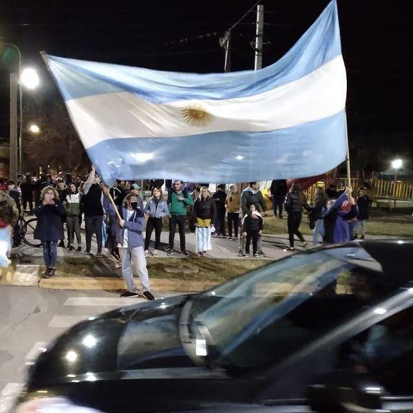 CABRERA- FESTEJOS POR ARGENTINA CAMPEON DE AMERICA