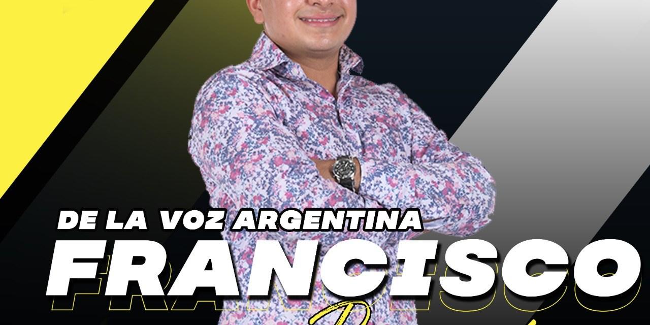 Confirmado –  Francisco Benítez de «La Voz» estará en Atahualpa Yupanqui