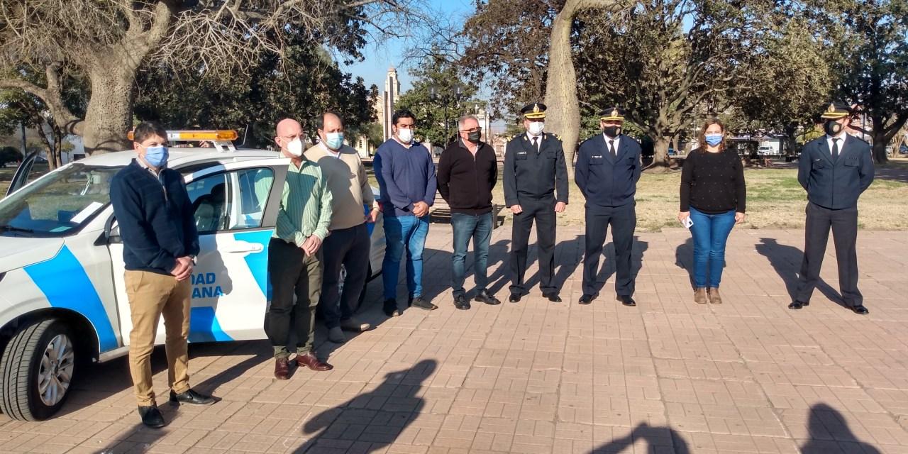 Cabrera – Presentaron el nuevo vehículo de «Seguridad Ciudadana»