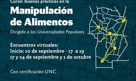 CURSO: BUENAS PRÁCTICAS EN LA MANIPULACIÓN DE ALIMENTOS