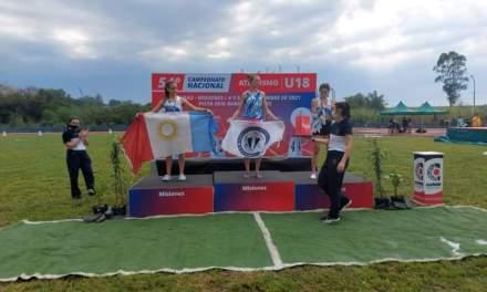 Priscila Galasso Subcampeona Nacional en Atletismo
