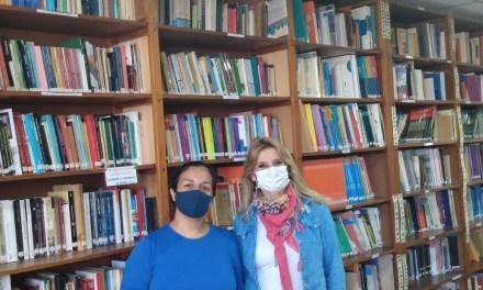 En el Día del Bibliotecario visitamos la Biblioteca del Instituto Superior Jerónimo Luis de Cabrera