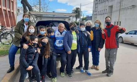 La Escuela Emilio F Olmos recolectó alimentos para Cabrera Solidaria