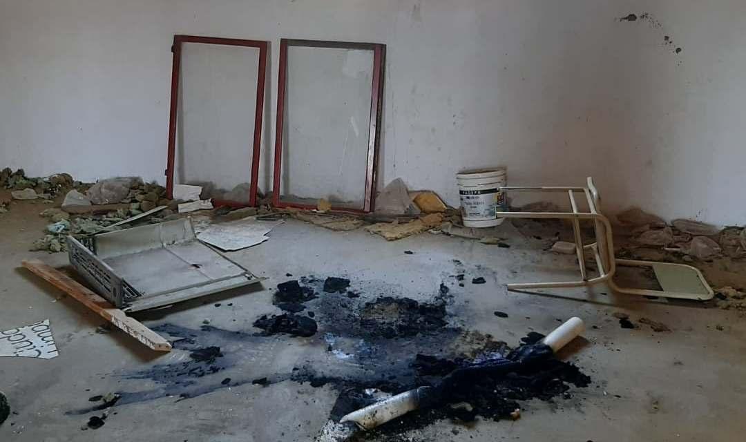 Menor inicia incendio en  un aula externa del colegio Fray Pío Bentivoglio