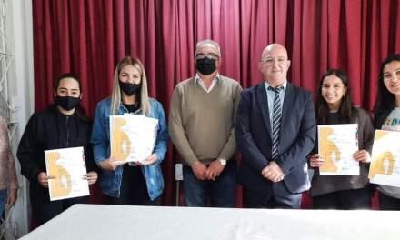 Las campeonas provinciales de malambo recibieron reconocimiento de la municipalidad