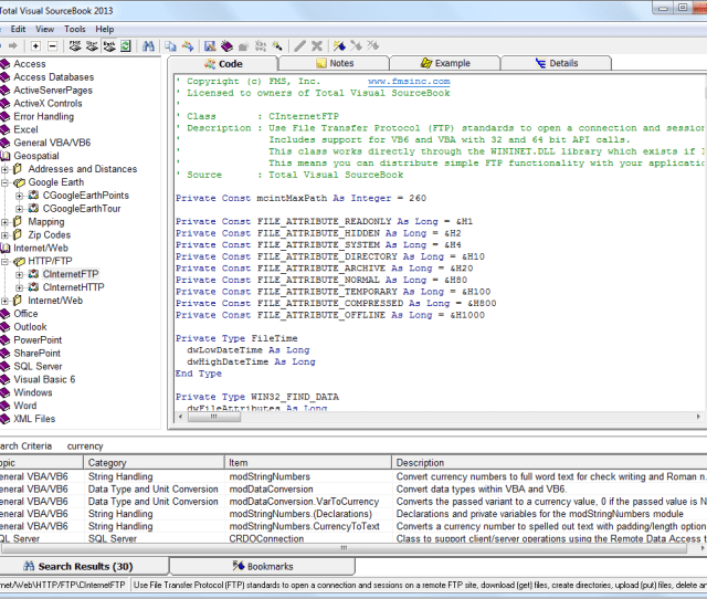 Microsoft Access And Visual Basic Code Library And Repository