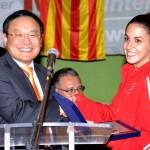 Su Excmo. Sr. PARK Hee-Kwon Embajador de la República de Corea en España