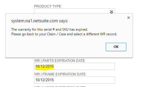 netsuite-custom-claim-case-expired