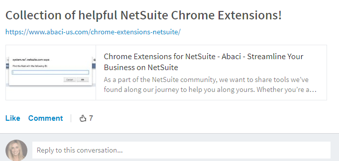 FMT Guide to NetSuite Resources-Chrome Extensions