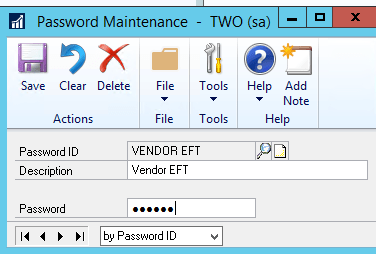 Field-Level-Security-Password Maintenance