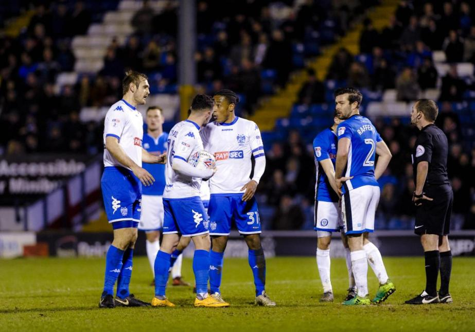 Bury fc players