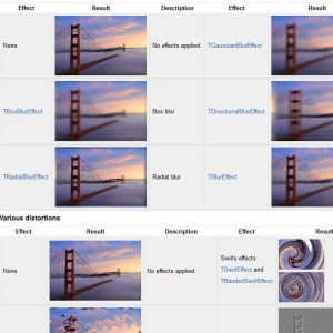 Delphi Firemonkey Filter Effects for Android and IOS
