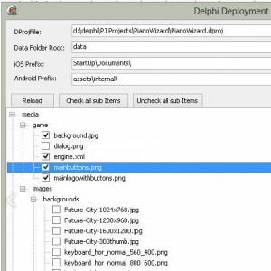 Delphi XE5 Firemonkey Deployment Android IOS