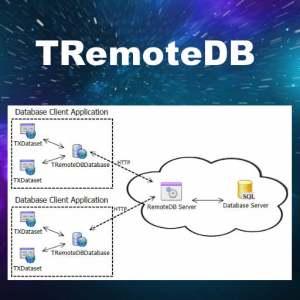 Delphi XE6 Firemonkey Remote Database Component
