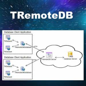Delphi XE6 Firemonkey Remote Database Component