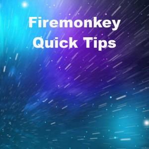 Delphi XE6 Firemonkey Quick Tips