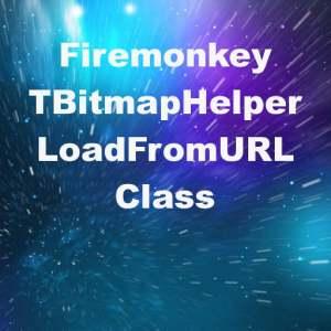 Delphi XE6 Firemonkey Bitmap Helper Class Load From URL