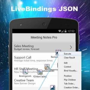 Delphi XE6 Firemonkey LiveBindings JSON