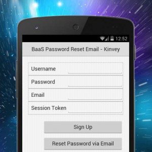 Delphi XE6 Firemonkey BaaS Password Reset Email