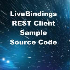 Delphi XE6 Firemonkey LiveBindings REST Client Tutorial
