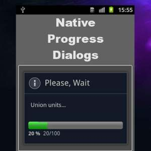 Delphi XE7 Firemonkey Native Progress Dialogs For Android And IOS