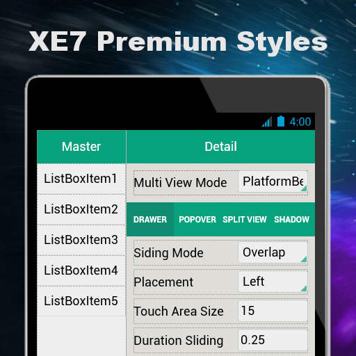 Free Premium Style Pack With Seven Styles For Delphi XE7 Firemonkey
