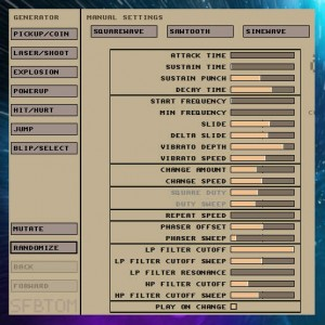 Delphi XE7 Firemonkey Mobile App Games Sound Effect Generator