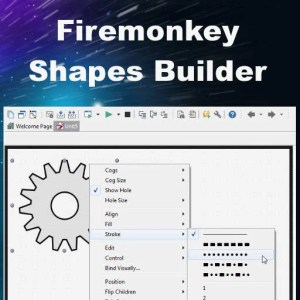Delphi XE7 Firemonkey 35 Shapes Android IOS