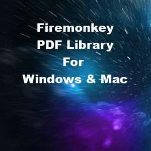 Delphi XE7 Firemonkey Read Write PDF Windows Mac OSX