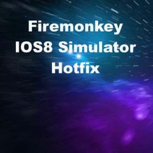 Delphi XE8 Firemonkey IOS8 Simulator Hotfix