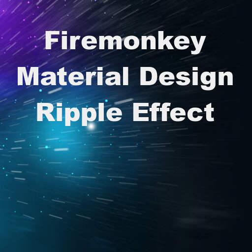 Material Design Ripple Click Effect Demo In #Delphi XE8 Firemonkey