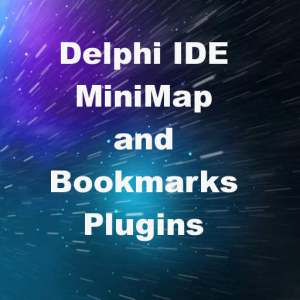 Delphi XE8 Firemonkey MiniMap And Bookmark IDE Plugin