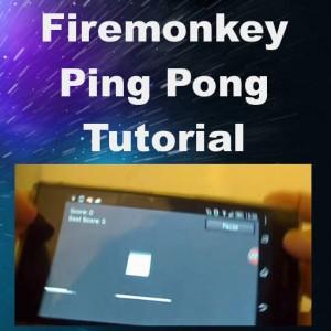 Motion Sensor Based Ping Pong Game Tutorial For #Delphi Firemonkey