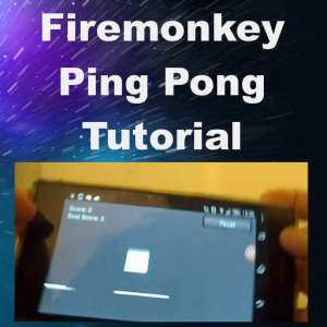 Delphi Firemonkey Ping Pong Game Tutorial Android IOS