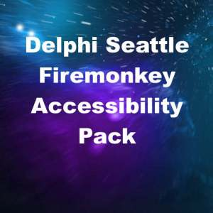 Delphi 10 Seattle Accessibility Pack For Windows and Mac OSX