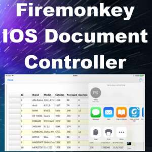 Delphi 10 Seattle IOS Document Controller Component
