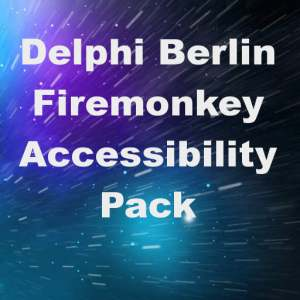 Delphi Berlin Firemonkey Accessibility Pack