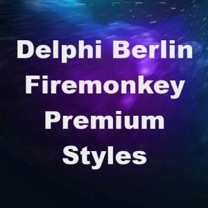 Delphi Berlin Premium Style Book Firemonkey Android IOS OSX Windows