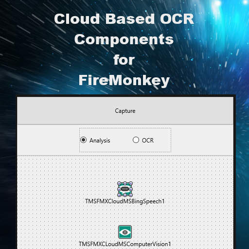 Computer Vision OCR And Analysis Cloud Pack For FireMonkey