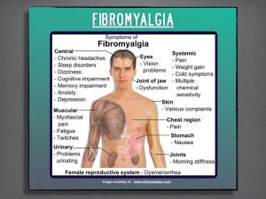 Description of some of the symptoms of Fibromyalgia.