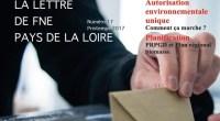 FNE Pays de la Loire vient de publier sa lettre d'information trimestrielle numéro 17 du printemps 2017. Retrouvez-y toutes nos actualités ! Au sommaire de ce nouveau numéro de La […]