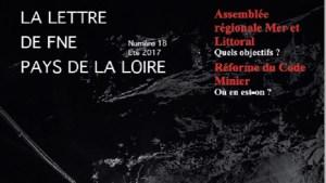 Extrait couverture La Lettre de FNE Pays de la Loire n°18
