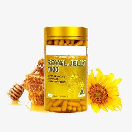حبوب رويال جيلي وغذاء ملكات النحل
